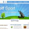 Шаблон ZT GolfSport для CMS Joomla от ZooTemplate