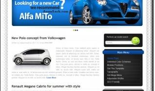 Шаблон HOT Cars для CMS Joomla от HotJoomla