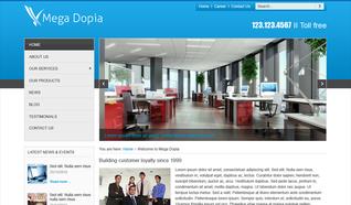 Шаблон OT Dopia для CMS Joomla от OmegaTheme